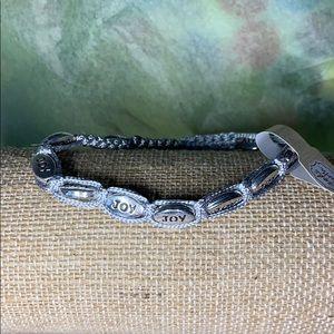 Jewelry - Inspirational cord bracelet